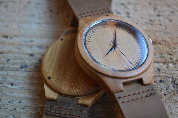 Houten horloge / persoonlijke horloge door CreativeUseofTech