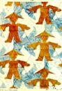 M. C. Escher - a tessallation of china boys