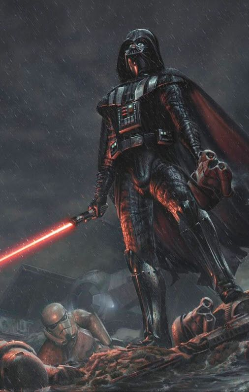 Darth Vader (aka Anakin Skywalker) - student of Darth Sidious.