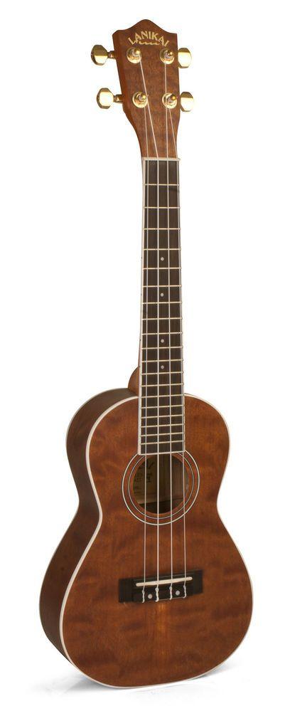 Lanikai Model LU22CBB Limited Edition Burled Bubinga Concert Size Ukulele. #LANIKAI #UKULELE