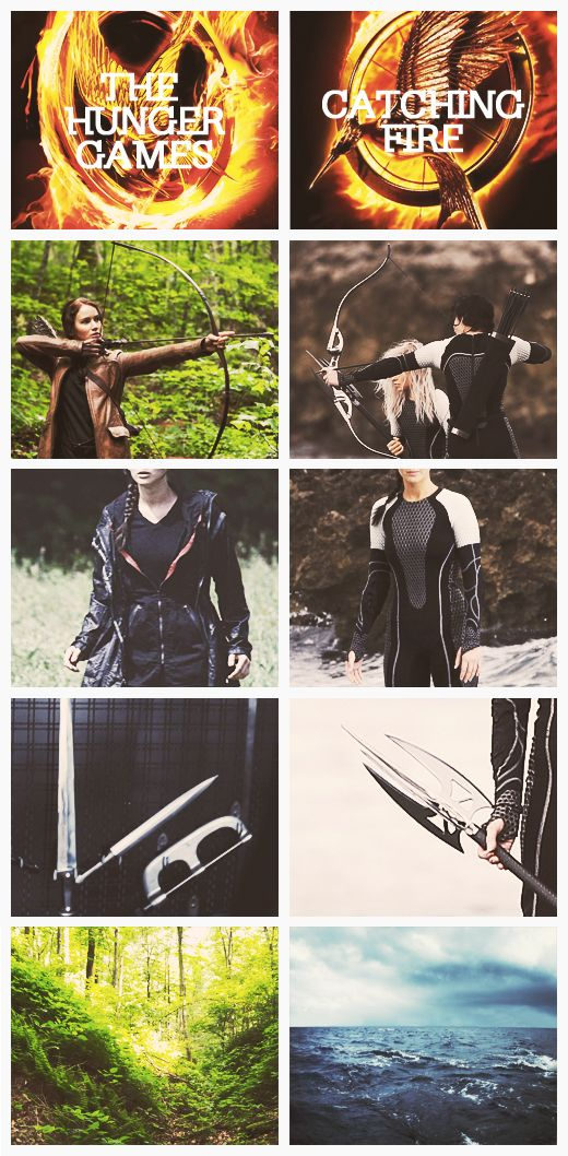 The Hunger Games & Catching Fire comparison.