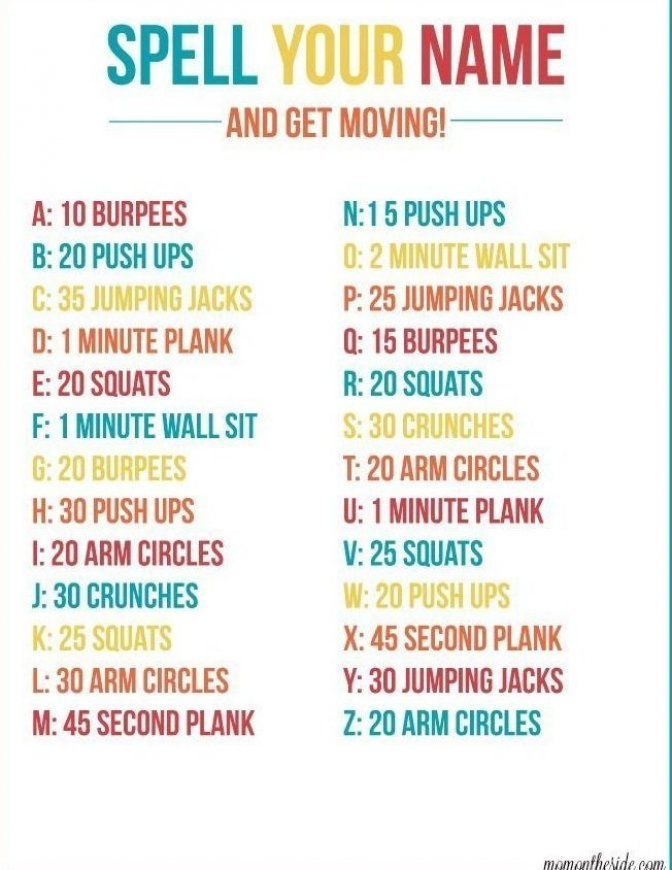 Busy Moms Need Quick Workouts That Get The Heart Pumping Your Name Workout Is Just That Simply Do The Workou In 2020 At Home Workouts Quick Workout Physical Wellness