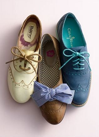 I have decided that I am just going to wear oxfords . They're adorable, super comfy, look cute in dresses.