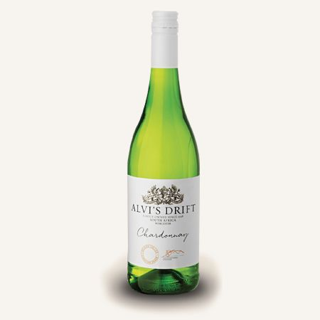 This lightly wooded blend has a lovely straw colour with aromas of ripe apricots, peaches and spanspek. The palate is full and creamy with subtle roasted nut characters balancing the fruit aromas. Great with salty soft cheeses and white meat such as pork, chicken and turkey.  #SouthAfricanWine #AlvisDrift #Chardonnay