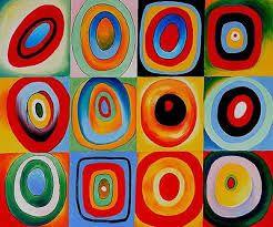 Afbeeldingsresultaat voor kleur en vorm kandinsky