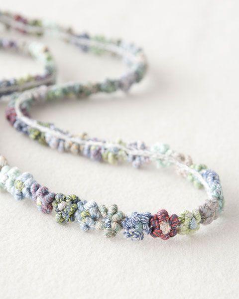 necklace, linen - 【楽天市場】sophie digard ss14 | lili et nene