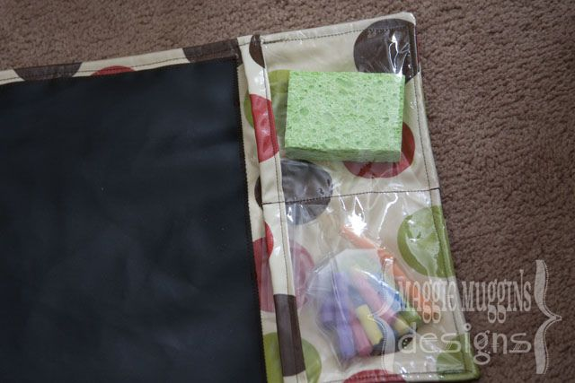 Chalk Mat for kids. Here is an easy how to tutorial.