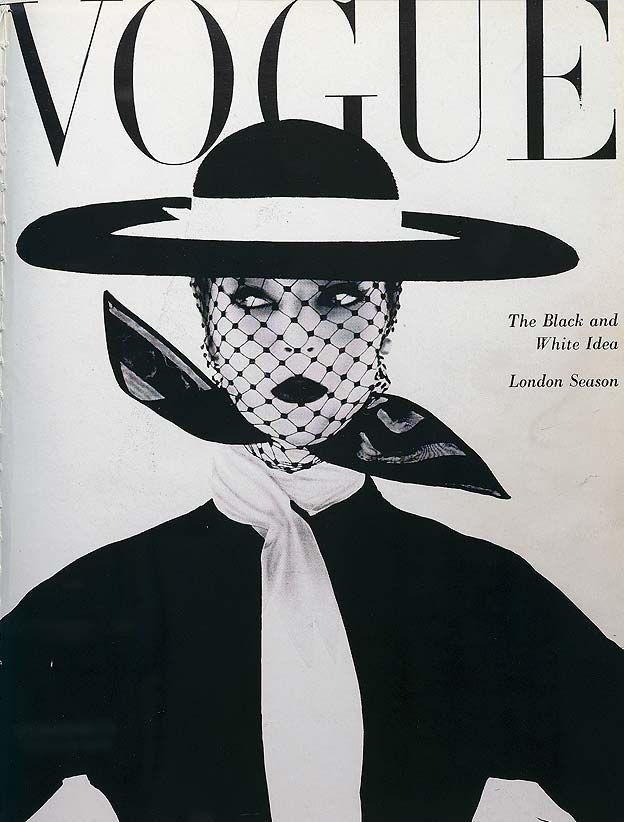 Vogue Cover June 1950 - Photography Irving Penn, Art Direction Alexander Liberman (bold & brilliant)