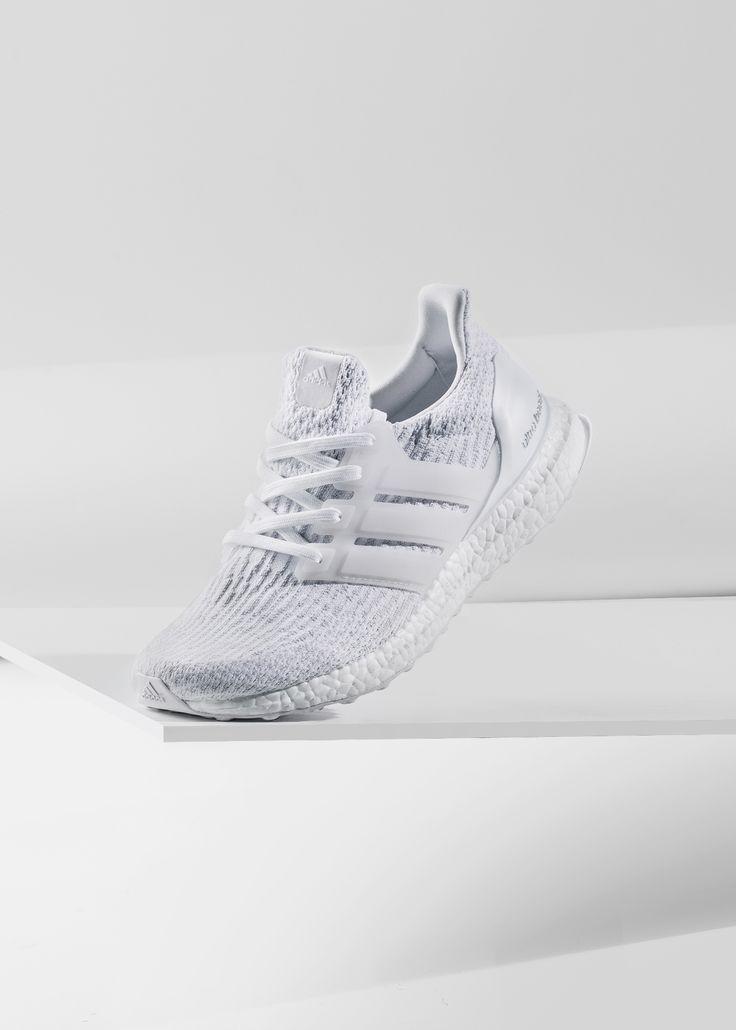 "Adidas Ultra Boost 3.0 ""Triple White"" #Adidas #Ultra #Boost #Primeknit"