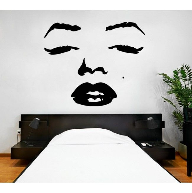 Marilyn Monroe Premium Vinyl Wall Sticker