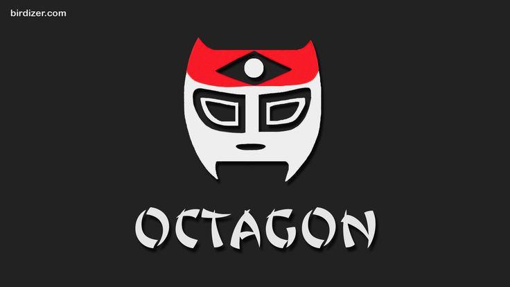 Octagón máscara wallpaper