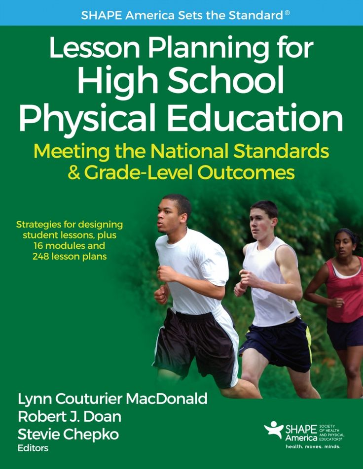 Lesson Planning for High School Physical Education With Web Resource (eBook)