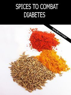 SPICES TO COMBAT DIABETES EFFECTIVELY