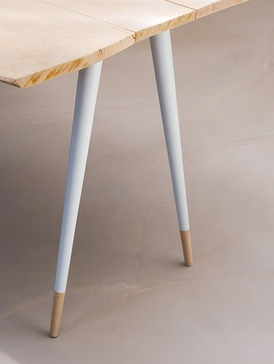 pied de table blanc bage_t 2 diy dco pinterest pied table pieds de table et diy dco - Pied Pour Table Basse