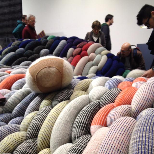 Wool knots