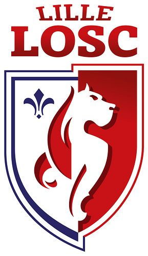 LOSC Lille (Lille Olympique Sporting Club / Lille OSC) | Country: France. País: Francia. | Founded/Fundado: 1944/09/23 | Badge/Crest/Logo/Escudo.