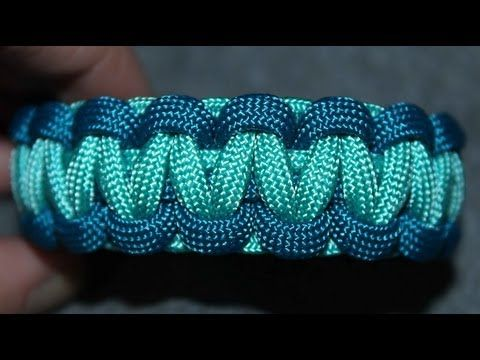 This is a tutorial for a 2 color cobra weave bracelet. I have an older video on this already, but this is a different method that I think is a little easier. Ive been wanting to remake that video for a while, because I knew it could definitely be improved upon, haha. If you have questions, please comment below.