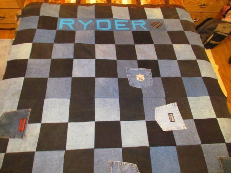 Ryder's camping blanket
