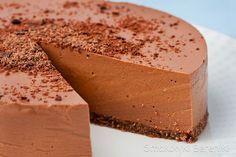 Sernik czekoladowy na jogurcie greckim