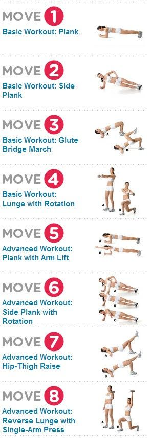 Flatten your tummy with this killer ab workout