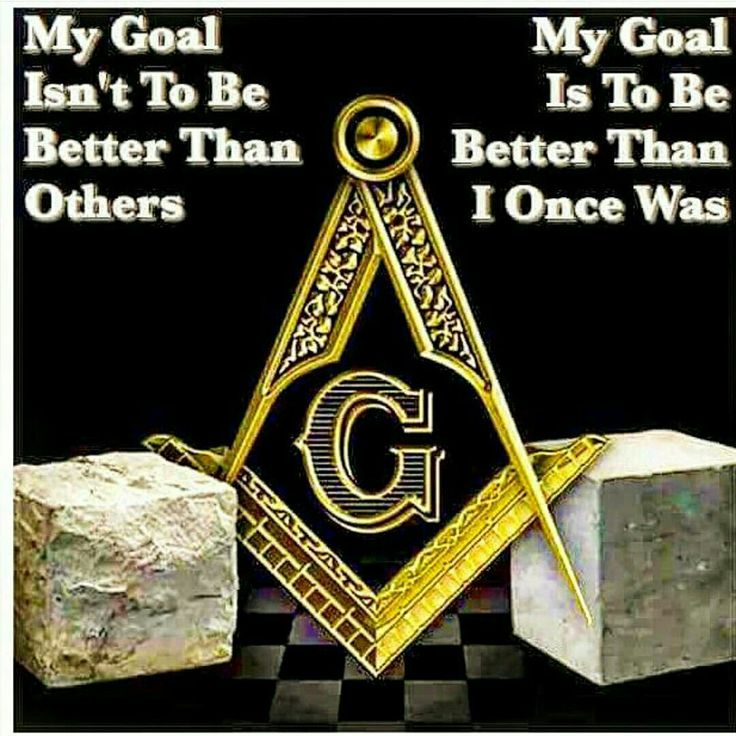 The goal of a better man