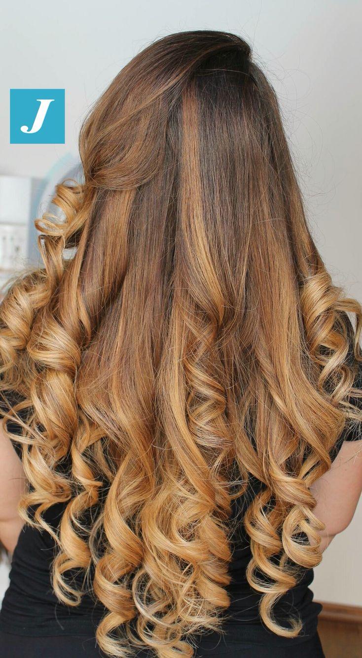 Sfumature color miele _ Degradé Joelle #cdj #degradejoelle #tagliopuntearia #degradé #igers #musthave #hair #hairstyle #haircolour #longhair #ootd #hairfashion #madeinitaly #wellastudionyc