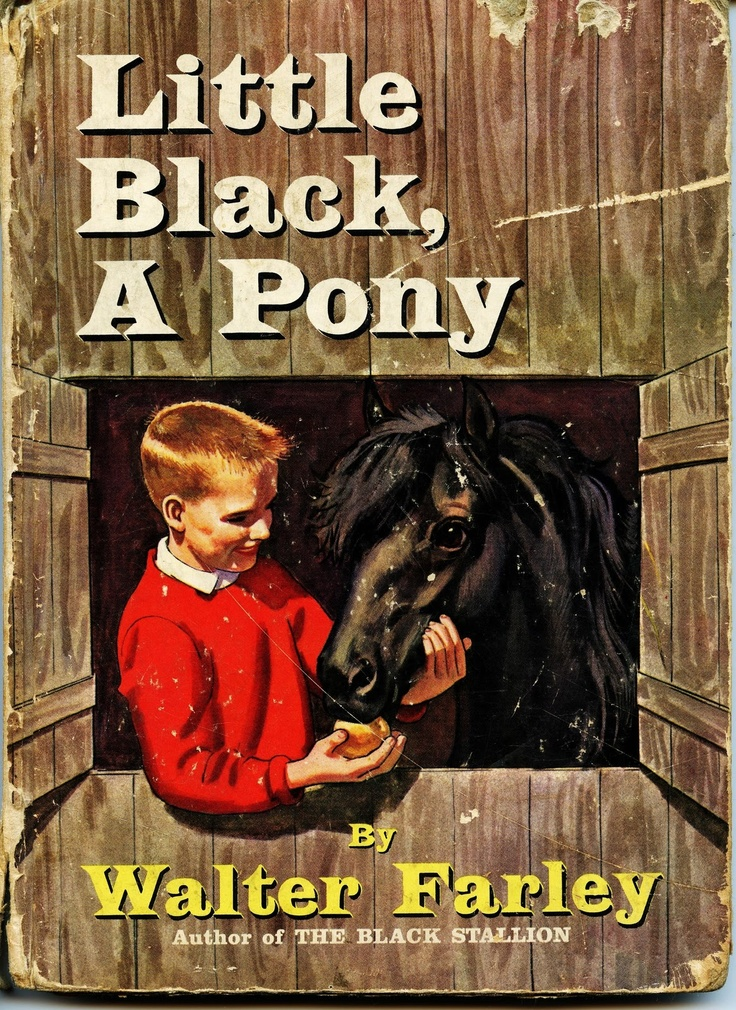 I love vintage horse books.