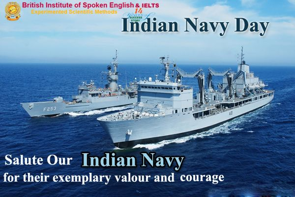 Salute Our Indian Day For Their Exemplary Valour And Courage Indiannavyday Ieltstraininginnagercoil Ieltscoachinginnag Indian Navy Indian Navy Day Navy Day