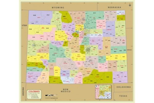 Maps Map Of Colorado Zip Codes Blog With Collection Of Maps All - Colorado zip code map