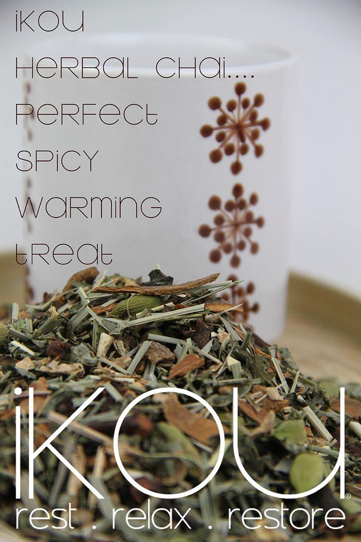 iKOU Herbal Chai.... Perfect spicy warming treat... iKOU.com.au