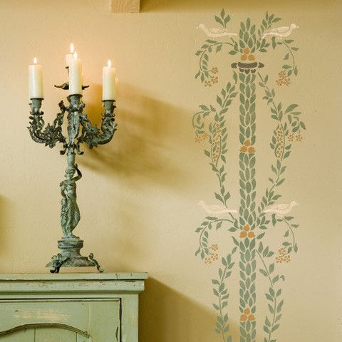 21 best Design Stencils images on Pinterest | Wall stenciling, Royal ...