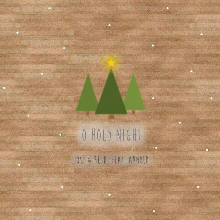 Free download from bandcamp tonight - debut single 'O Holy Night' by Josh & Beth feat. Arnold. Perfect :)