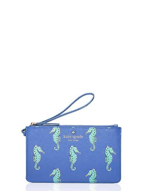 cedar street seahorses slim bee, adventure blue