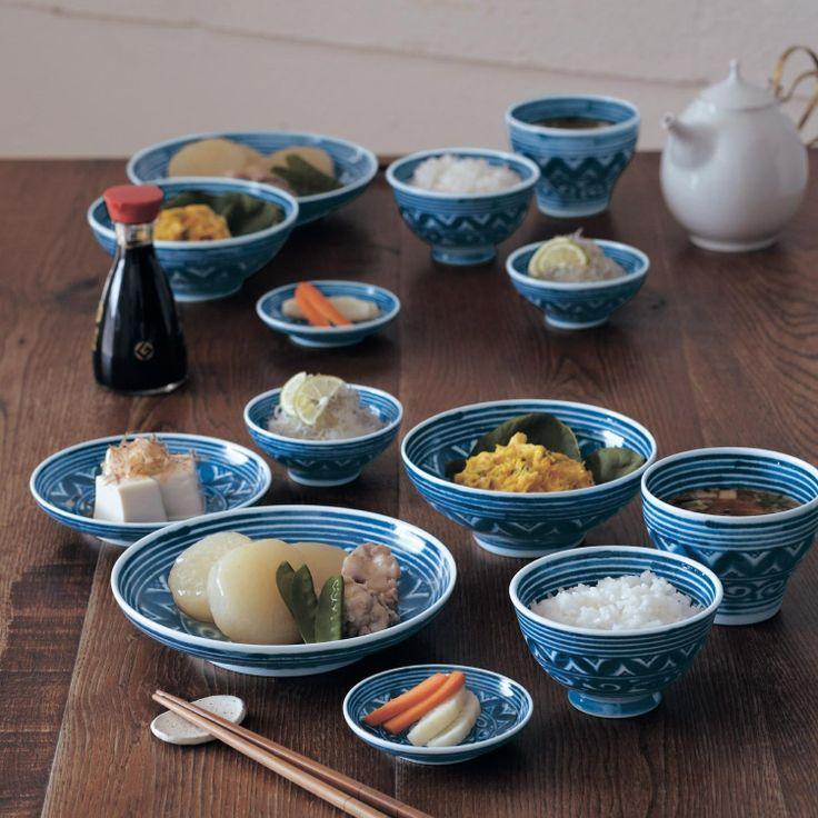 有田焼 藍食器