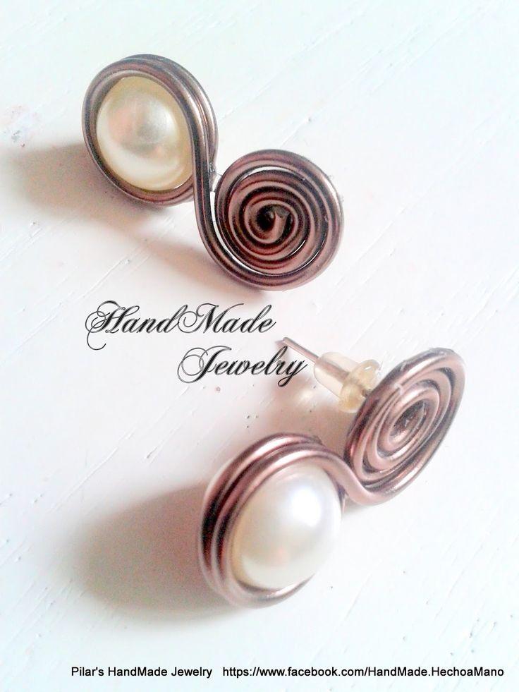 Bisuteria Hecho a Mano -  HadMade Jewelry: Earrings -  https://www.facebook.com/HandMade.HechoaMano http://bisuteriahechoamano.blogspot.co.uk http://www.etsy.com/shop/HmShop