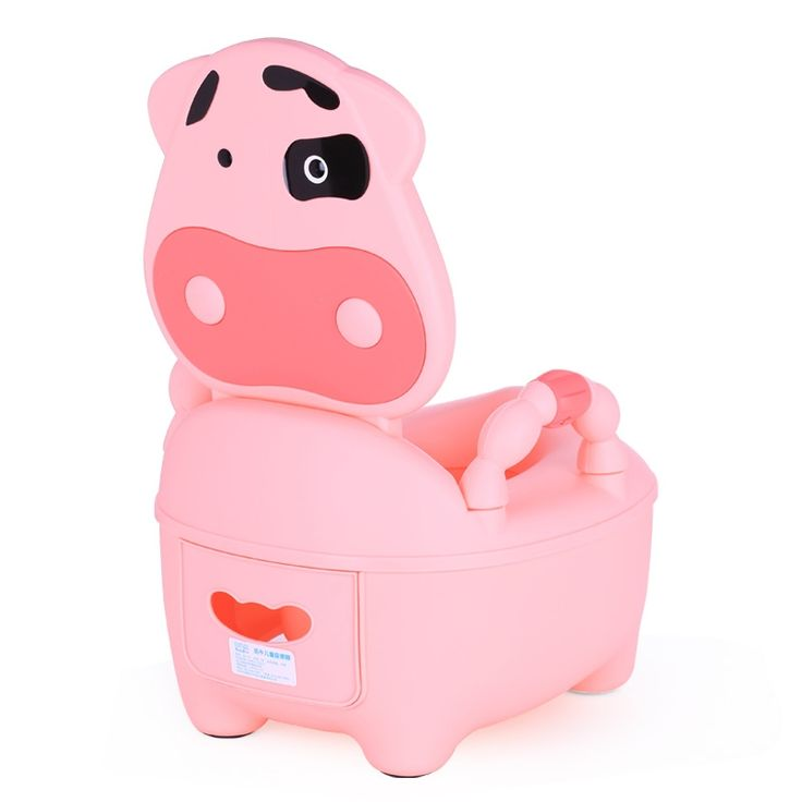 31.50$  Buy here - http://aliq6c.shopchina.info/go.php?t=32805249057 - Child Pot Baby Toilet Seat Cute Milk Cow Leakproof Portable Children Pot Drawer Kids Baby Toilet Training Unisex Children Potty  #buyininternet