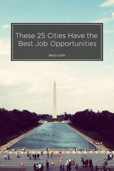 Get hired in these top cities! www.levo.com
