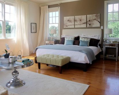 County Chic Farmhouse In North Carolina, Contemporary Bedroom, Raleigh
