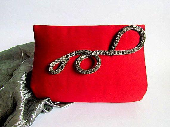 Small Chic Crimson Red Purse Trendy Purse Boutique Purse