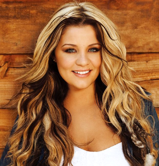Lauren Alaina - thinking about doing the dark brown in the front section...