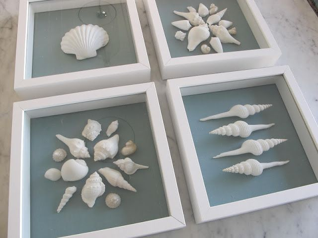 GEORGICA POND: DIY Shell Artwork