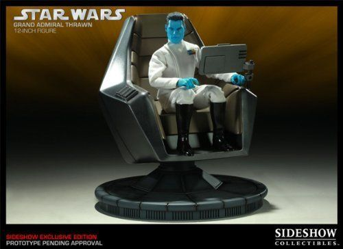 Star Wars 12 inches figure Sloan Grand Admiral with command chair (japan import) by Sideshow Toys @ niftywarehouse.com #NiftyWarehouse #Geek #Products #StarWars #Movies #Film