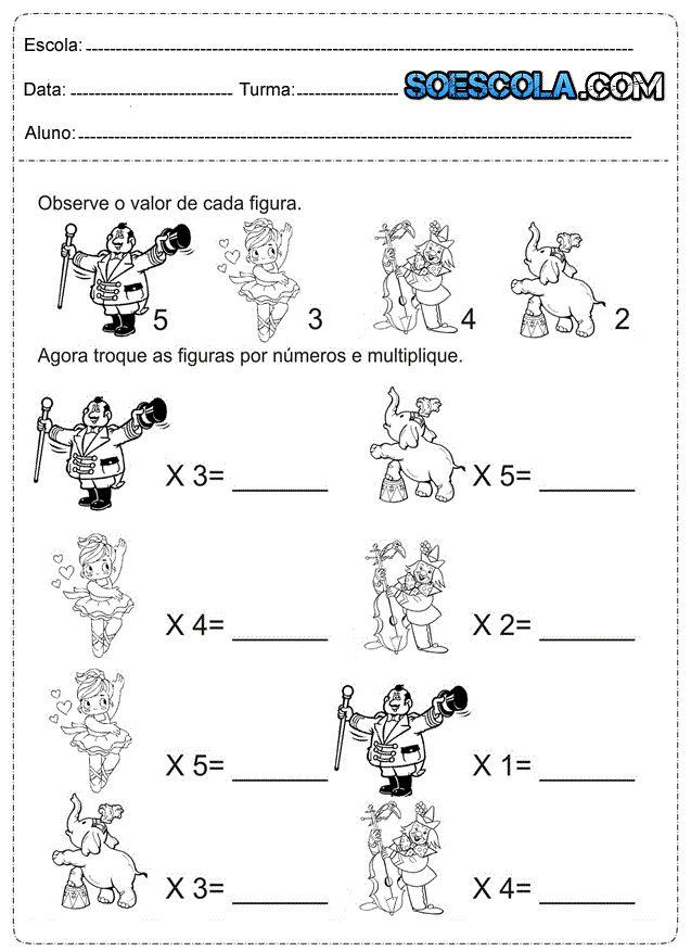 Problemas de matemática 3° ano Ensino Fundamental