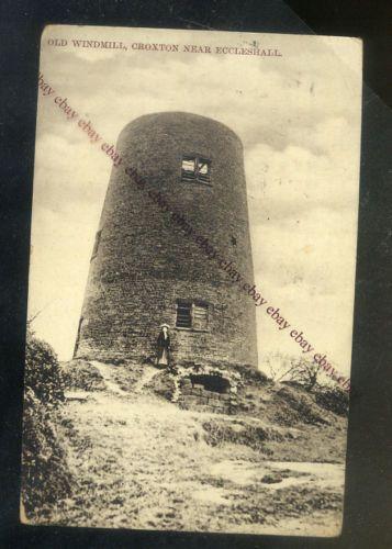 Croxton Old Windmill Nr Eccleshall Staffordshire Postcard | eBay