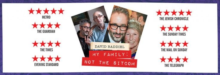 New Post: David Baddiel's 'My Family: Not the Sitcom' at JFL Montreal http://mobtreal.com/david-baddiels-family-not-sitcom-jfl-montreal?utm_content=buffer053c2&utm_medium=social&utm_source=pinterest.com&utm_campaign=buffer
