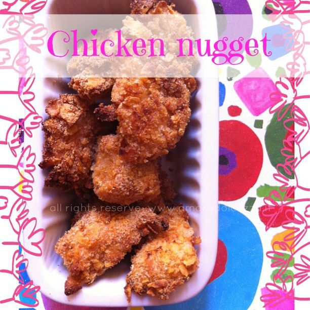 Nuggets Keto Diet: CHICKEN NUGGET Home Made
