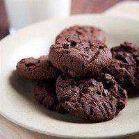 Seige og gode sjokoladekjeks uten hvetemel.