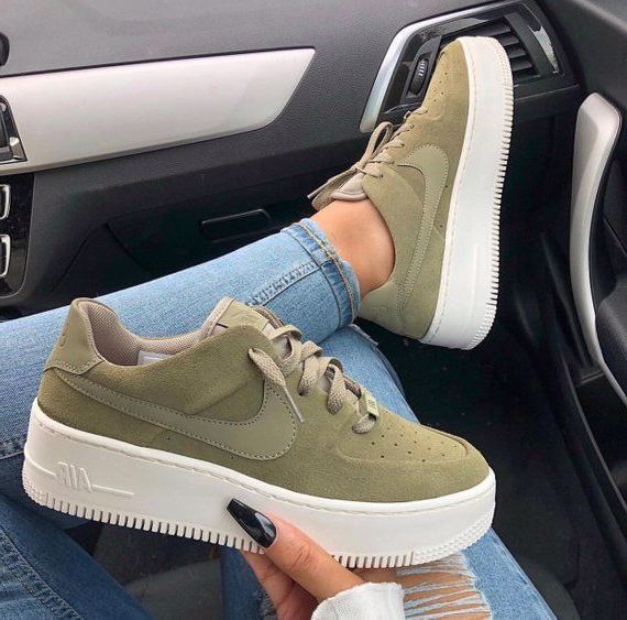 Swarovski Nike Air Force 1 Sage Low Women Casual Sneakers