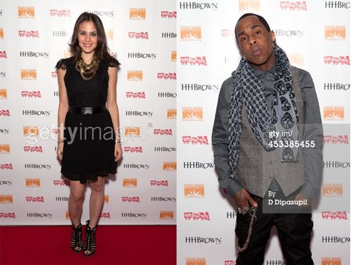 Photo: #MuchandHousePR clients Xenia Ghali & Artiste Justin at the #HHBrown #charity event in #NYC