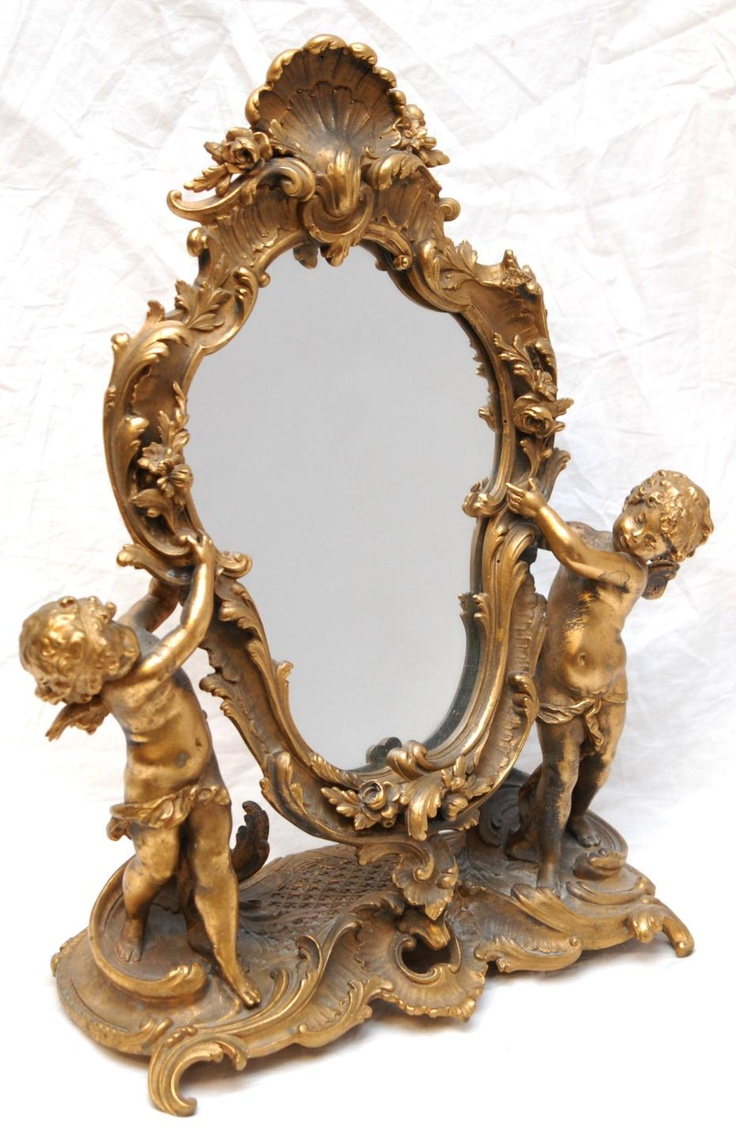 17 best images about antique mirrors on pinterest mother for Antique french mirror